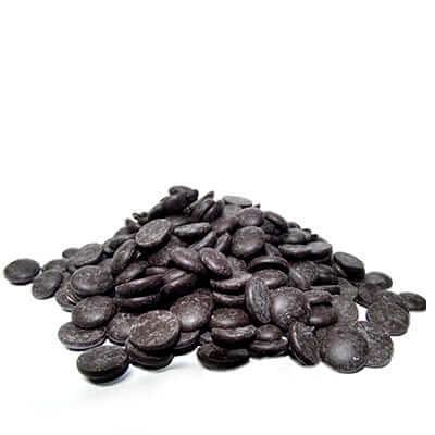 שוקולד מריר מטבעות 55% lubeca אלמנדוס