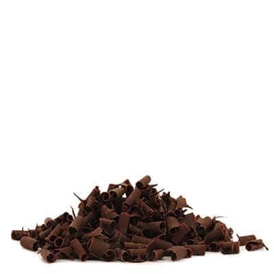 מיקרו שבבי שוקולד משולב לבן, חלב קישוטי עוגה אלמנדוס