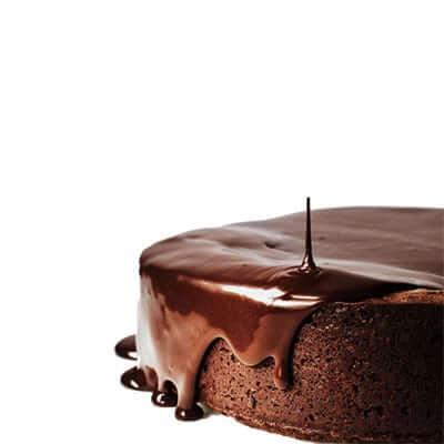 מירור שוקולד לציפוי אלמנדוס