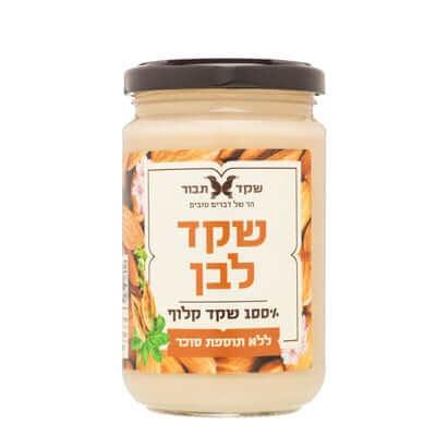 חמאת שקדים- אלמנדוס