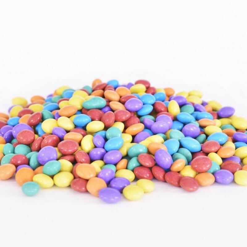 קישוטים לעוגה, עדשים צבעונית